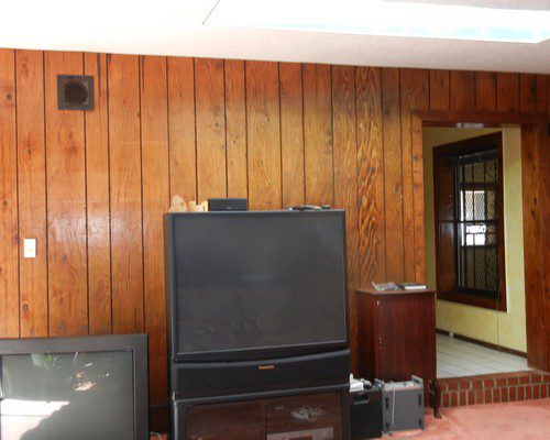 panel living room before
